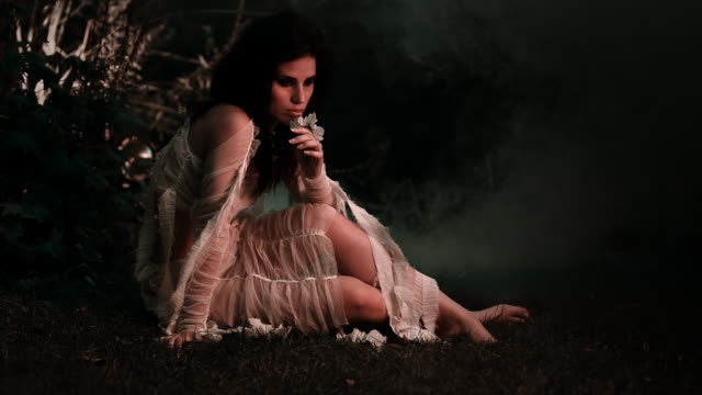 forest girl - fantasy stock videos & royalty-free footage