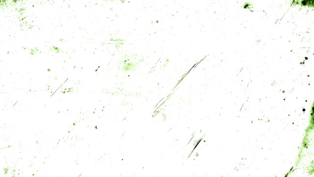 forest green stop motion animation, high contrasted grungy and dirty, animated, distressed and smudged 4k loopable video background with street style texture - smudged stock videos & royalty-free footage