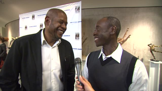 forest whitaker and don cheadle on attending opening night of 'a raisin in the sun' at the ebony repertory theatre on what makes 'a raisin in the... - raisin stock videos & royalty-free footage