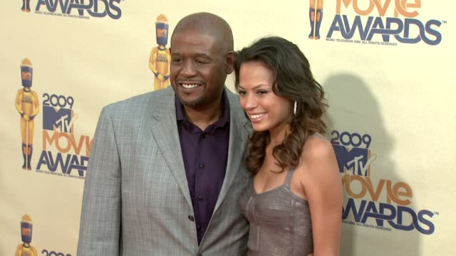 forest whitaker and guest at the 18th annual mtv movie awards at universal city ca. - ユニバーサルシティ点の映像素材/bロール