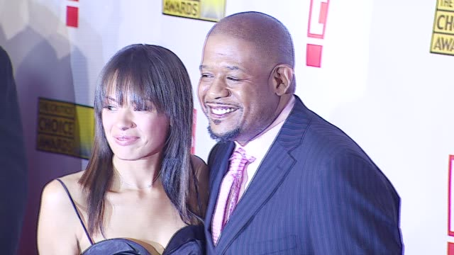 Forest Whitaker and Keisha Whitaker at the Broadcast Film Critics Association's 2007 Critic's Choice Awards at Santa Monica Civic Auditorium in Santa...