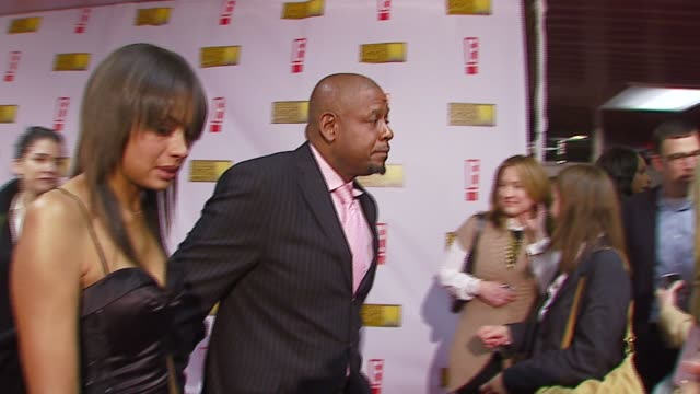 forest whitaker and keisha whitaker at the broadcast film critics association's 2007 critic's choice awards at santa monica civic auditorium in santa... - broadcast film critics association stock videos & royalty-free footage