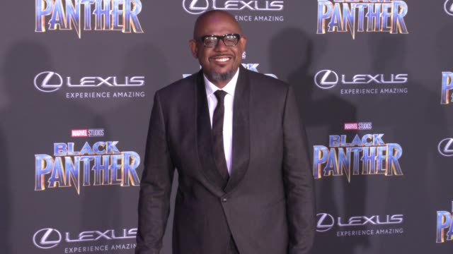 Forest Whitaker at the Marvel Studios' 'Black Panther' World Premiere at Dolby Theatre on January 29 2018 in Hollywood California