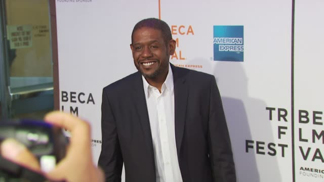 forest whitaker at the 'my own love song' premiere 9th annual tribeca film fest at new york ny - open collar stock videos and b-roll footage