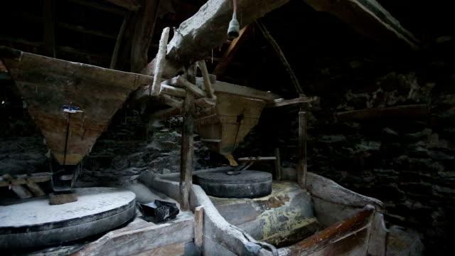 forgotten watermill - watermill stock videos & royalty-free footage