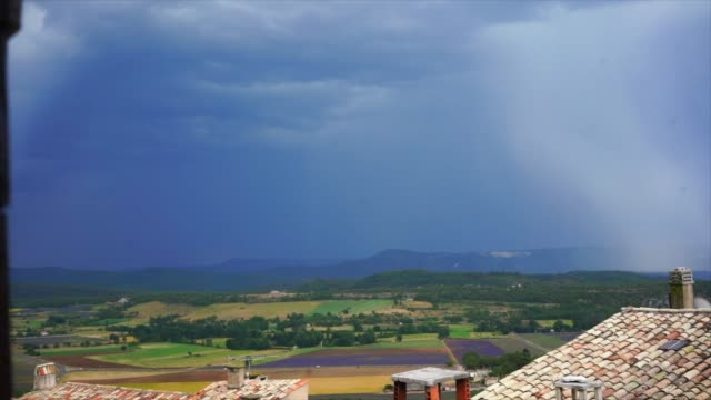 fork lightning in provence - forked lightning stock videos & royalty-free footage