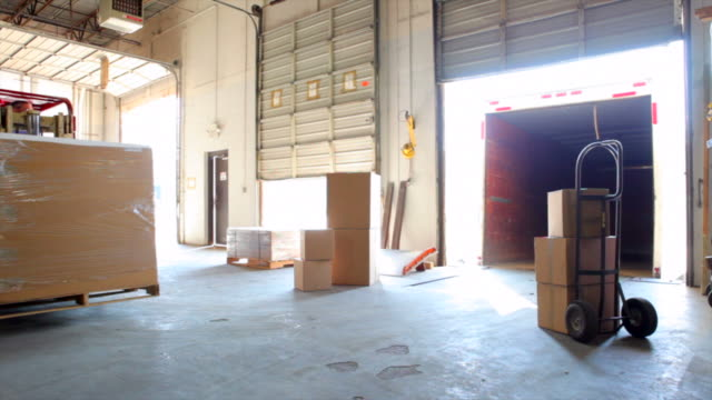 forklift in warehouse - removal man stock videos & royalty-free footage