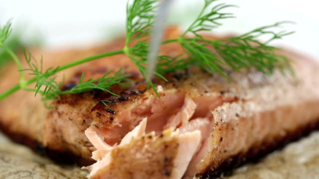Fork-Tender Seared Salmon Filet