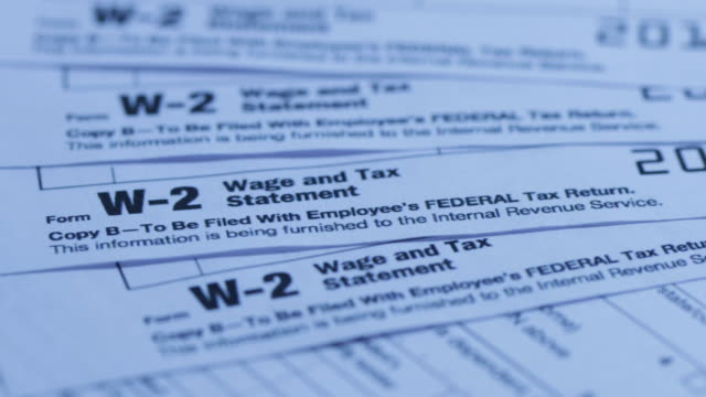 IRS Form W-2 Tax