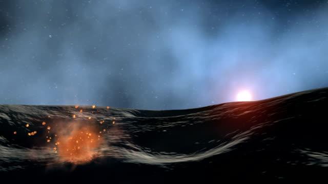 vidéos et rushes de formation of a protoplanet - heurter