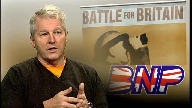 Former army leaders accuse BNP of hijacking the good name of Britain's military INT Colonel Tim Collins interview SOT