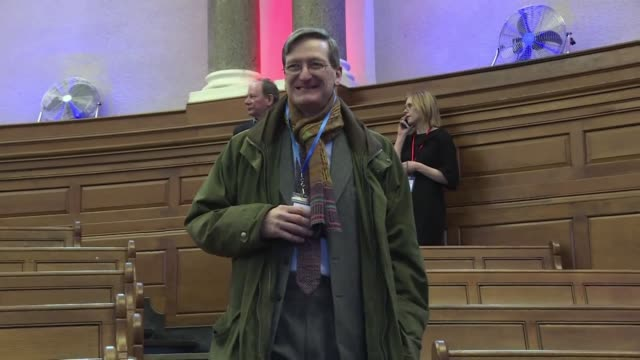 former attorney general and conservative mp dominic grieve calls for a 2nd brexit referendum after having put forward an amendment voted on wednesday... - dominic grieve stock videos and b-roll footage
