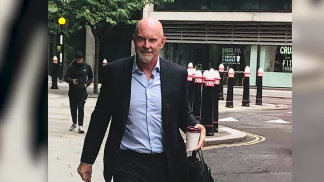 former barclays boss roger jenkins enters the rolls building after being caught up in a £16 billion high court battle involving the bank and a... - businesswoman stock videos & royalty-free footage