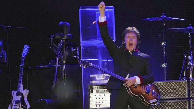 former beatle paul mccartney will celebrate his 70th anniversary on monday. clean: former beatle paul mccartney turns 70 on mo on june 17, 2012 in... - greater london stock videos & royalty-free footage