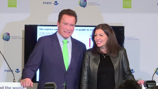 Former California governor Arnold Schwarzenegger downplayed the US withdrawal from the climate accord on Monday claiming Donald Trump pulled Donald...