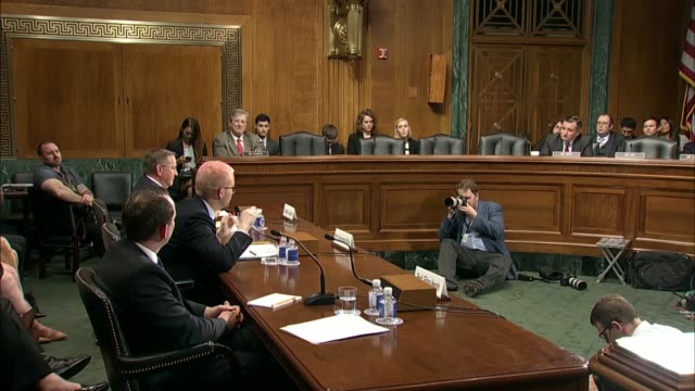 Former Cambridge Analytica Research Director Christopher Wylie tells Texas Senator Ted Cruz at a Senate Judiciary Committee at a hearing on data...