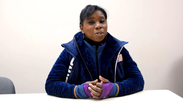 Former competitive figure skater Surya Bonaly a threetime World silver medalist and ninetime French national champion speaks about developments in...