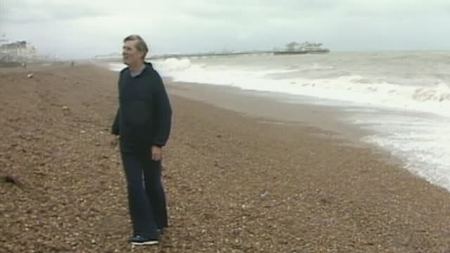 Former Conservative minister Cecil Parkinson dies aged 84 LIB Brighton EXT ***FLASH Cecil Parkinson MP jogging along promenade and seafront before...