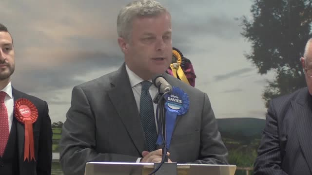 Former Conservative MP Chris Davies has lost a byelection in Brecon and Radnorshire Liberal Democrat Jane Dodds pushed into second place the...