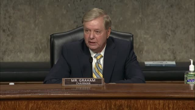 former deputy attorney general sally yates testifies to senate judiciary committee chairman lindsey graham at a hearing in review of the fbi... - attorney general stock videos & royalty-free footage