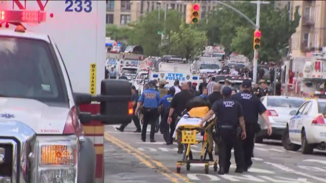 wpix a former doctor wearing a white lab coat who opened fire inside a bronx hospital killed at least one person and injured several others before... - criminal investigation stock videos & royalty-free footage