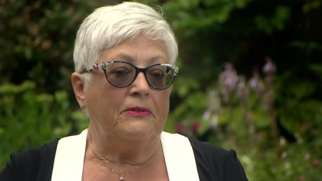 former employees of british gymnastics allege that claims of abuse were delayed or not taken seriously england ext ros anwyl sat in garden with... - itv news at ten stock videos & royalty-free footage