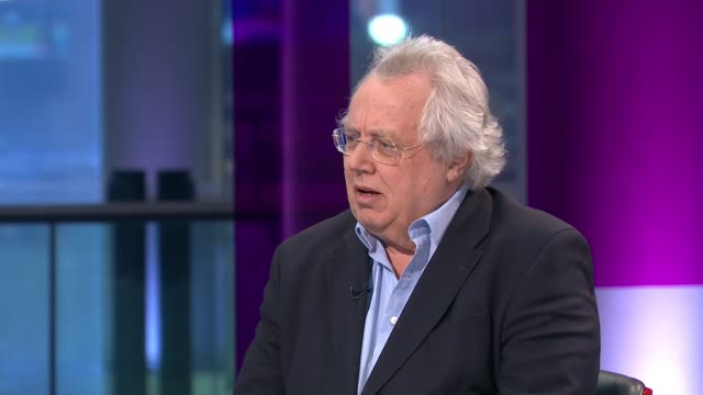 former energy minister claire perry o'neill sacked as chair of un climate summit england london gir int tom burke live studio interview sot - cathy newman stock videos & royalty-free footage