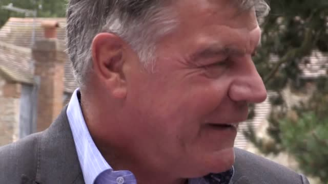 former england manager sam allardyce helps launch this year's special olympics in sheffield by attending a torch ceremony in much wenlock home of the... - olympic torch stock videos & royalty-free footage