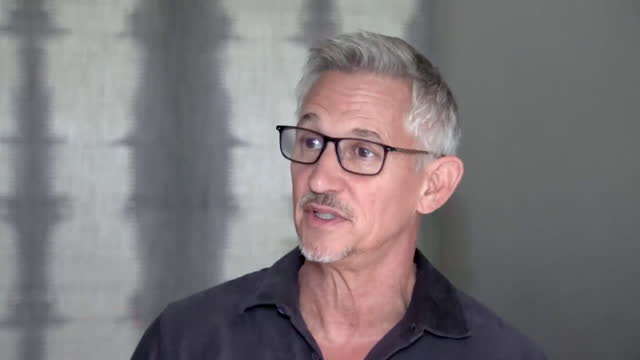 """former england striker gary lineker saying gareth southgate has """"gained the trust of the team and the nation"""" during euro 2020 - teamwork stock videos & royalty-free footage"""