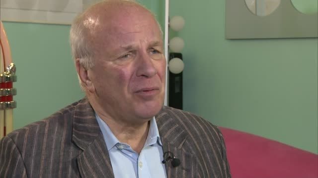 former fa chiefs urge government to restructure 'unrepresentative' organisation london int greg dyke setup shots with reporter / interview sot four... - greg dyke stock videos & royalty-free footage