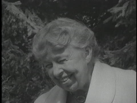 former first lady eleanor roosevelt states that one cannot explain what freedom feels like - a person must feel it. - 1950 1959 stock videos & royalty-free footage