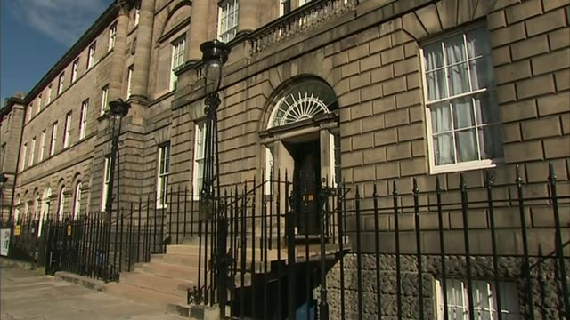 former first minister of scotland alex salmond denies harassment allegations scotland edinburgh ext gvs bute house - alex salmond stock videos & royalty-free footage