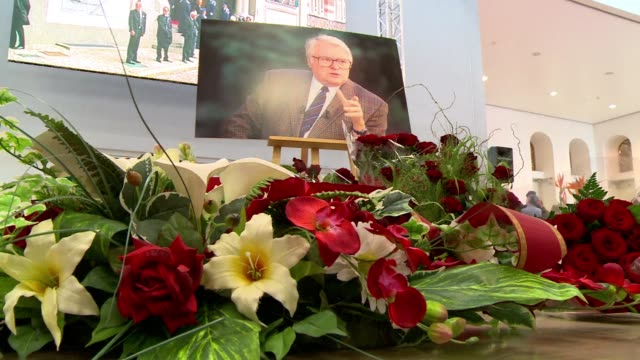 former french socialist prime minister pierre mauroy who died this week aged 84 has been honoured in a ceremony in the town of lille where he served... - lille stock videos & royalty-free footage