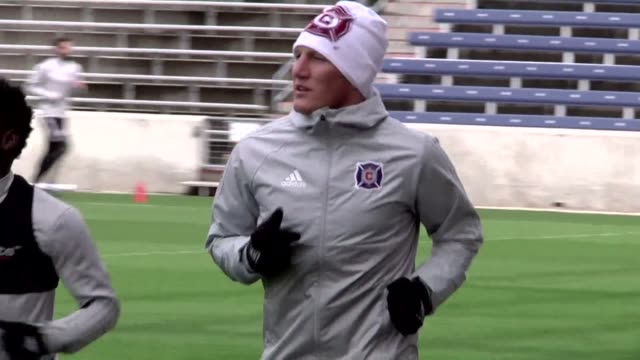 former germany captain bastian schweinsteiger joins us major league soccer as a player for the chicago fire leaving behind premier league giants... - major league soccer stock videos and b-roll footage