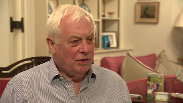 former governor of hong kong lord patten saying china's proposed new extradition law is the biggest threat to hong kong's autonomy since we left in... - 1997 stock-videos und b-roll-filmmaterial