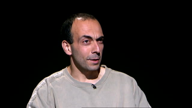 former guantanamo detainee bisher alrawi interview **itn bulletins must onscreen credit 'channel 4 news'** what did you feel about abu qatada when... - channel 4 news stock videos and b-roll footage