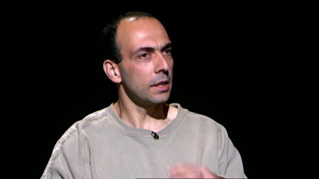 former guantanamo detainee bisher alrawi interview **itn bulletins must onscreen credit 'channel 4 news'** bisher alrawi interview sot from gambia we... - バグラム点の映像素材/bロール