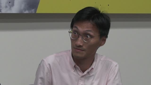 former hong kong lawmaker eddie chu hoi-dick is amongst eight pro-democracy activists arrested on tuesday for organising a july protest.it's the... - legislator stock videos & royalty-free footage