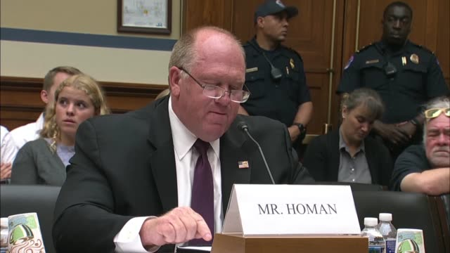 Former Immigration and Customs Enforcement Acting Director Thomas Homan tells the House Oversight and Reform Committee that the men and women of ICE...