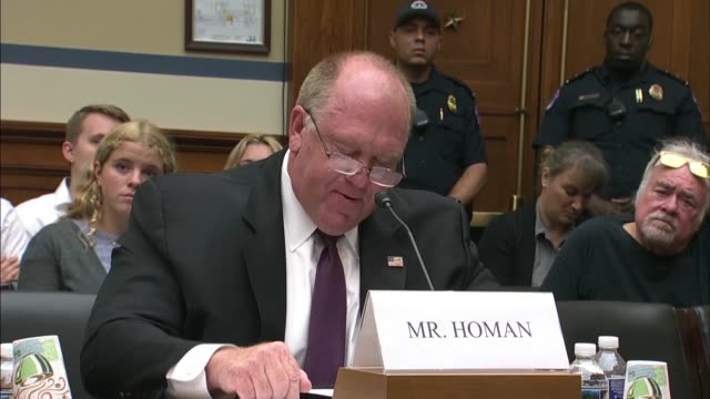 former immigration and customs enforcement acting director thomas homan tells the house oversight and reform committee that no one wants to talk... - tuberculosis stock videos and b-roll footage