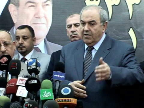 Former Iraqi prime minister Iyad Allawi on Tuesday voiced his concern about possible irregularities during a recount for Baghdad Allawi's Iraqiya...