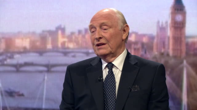 Former Labour party leader Neil Kinnock saying there has been a significant shift away from Jeremy Corbyn and that he should reconsider his position...