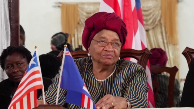 Former Liberian president Ellen Johnson Sirleaf wins the rarely awarded Ibrahim Prize for Achievement in African Leadership the world's biggest...