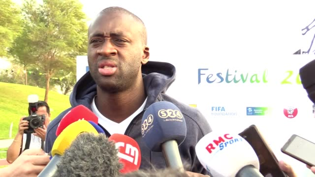 former manchester city midfielder yaya toure assesses the fortunes of his former club this season, liverpool's title credentials and sadio mane's... - côte d'ivoire stock videos & royalty-free footage