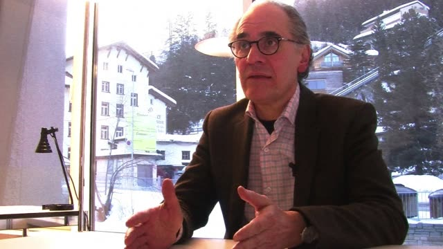 former mexican minister herminio blanco mendoza is seeking support at the world economic forum in davos for his bid to become the next head of the... - gebot stock-videos und b-roll-filmmaterial