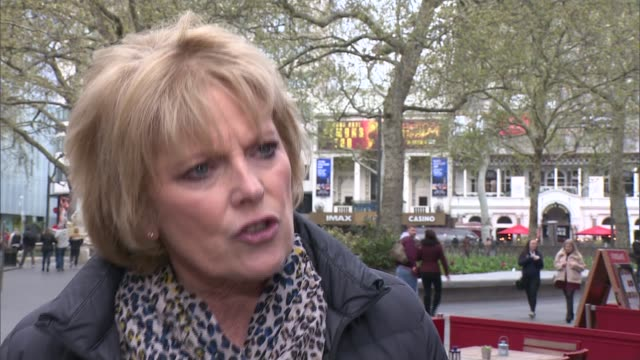 Former MPs defect to Change UK party and pressure Theresa May on leadership challenge ENGLAND London Westminster Leicester Square EXT Anna Soubry MP...