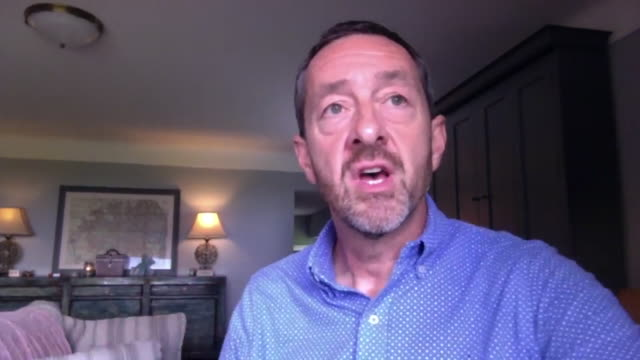 former olympic cycling gold medallist chris boardman saying the government's £2bn investment into new cycle lanes in the uk is the biggest change... - investment stock videos & royalty-free footage