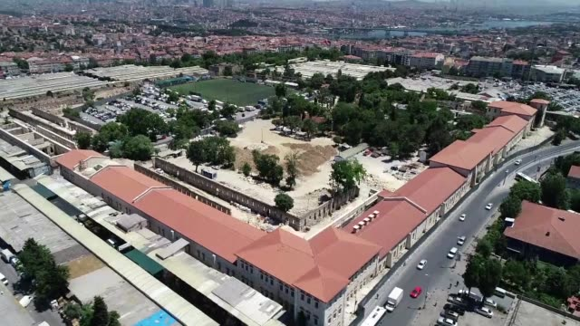 A former Ottoman barrack will be turned into Turkey's biggest library with a capacity of 7 million books in Istanbul an official from Turkish Culture...