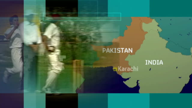 Former Pakistani cricket captain denies match fixing at World Cup EXT Regional ricket game / GRAPHIC map of Pakistan and India