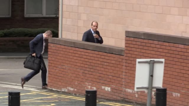 former police chief sir norman bettison arrives at preston crown court to hear an application by his lawyers to stop his prosecution for misconduct... - prosecution stock videos & royalty-free footage